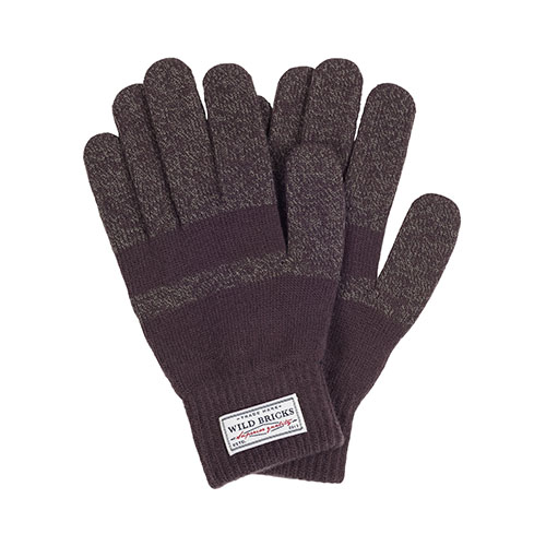 BASIC TOUCH GLOVES(brown)