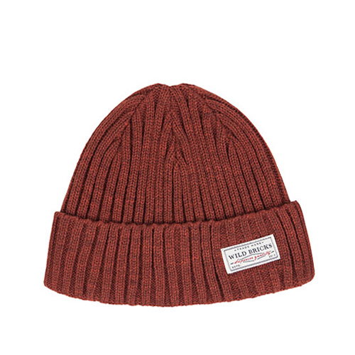 WATCH CAP (red brown)