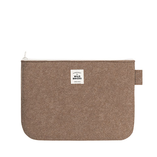 TODAY POUCH (brown)