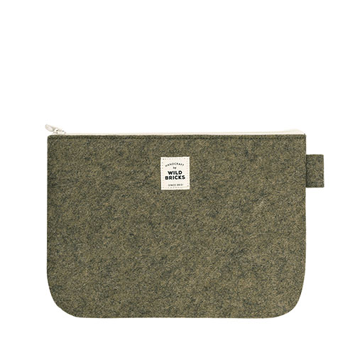 TODAY POUCH (khaki)