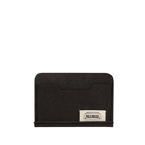 PAPER LEATHER CARD CASE (black)