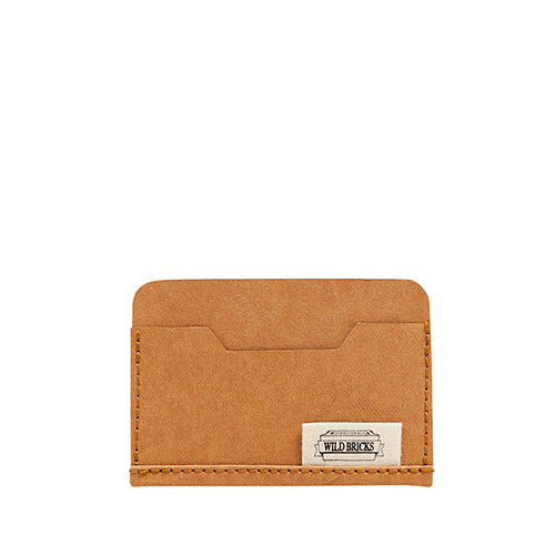 PAPER LEATHER CARD CASE (orange)