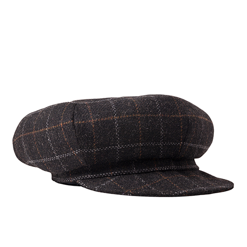 NEWSBOY CAP (black)