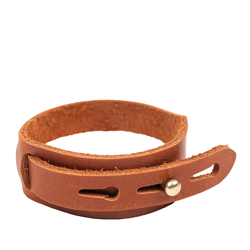 LEATHER BRACELET (brown)
