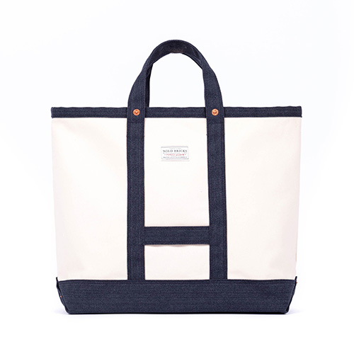 CANVAS COAL BAG (navy)