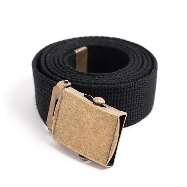 MILITARY WEBBING BELT (black)
