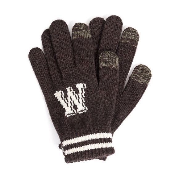 WB TOUCH GLOVES (brown)