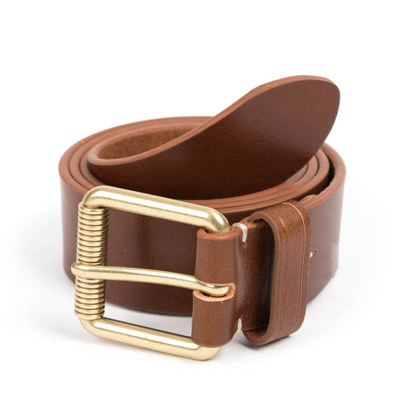 VIN LEATHER BELT (brown)
