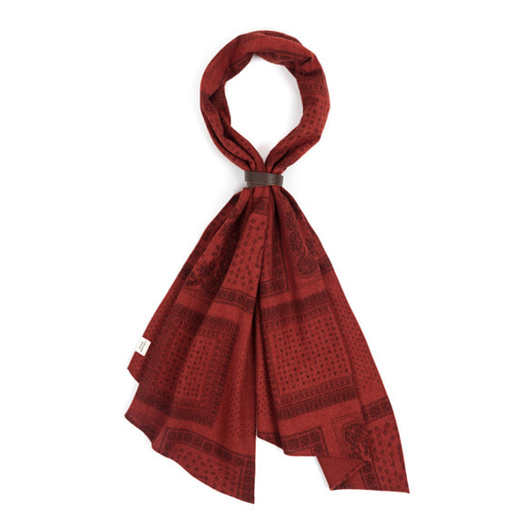 BDN SCARF (red)