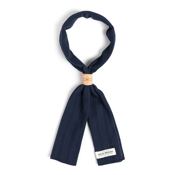 ROPE SCARF (navy)