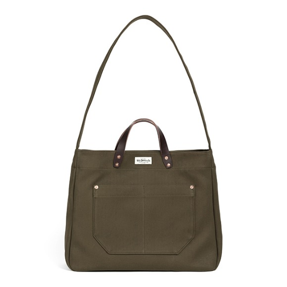 HBT TWO-WAY BAG (khaki)