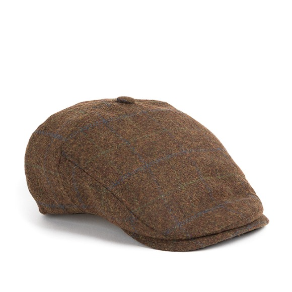 BG CHECK HUNTING CAP (brown)