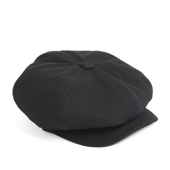HBT NEWSBOY CAP (black)
