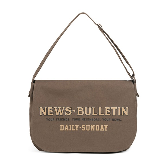 CANVAS NEWSBOY BAG (khaki)