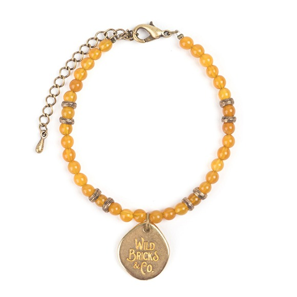 TH GEMSTONE BRACELET (yellow)