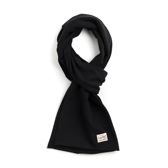 BS COTTON MUFFLER (black)