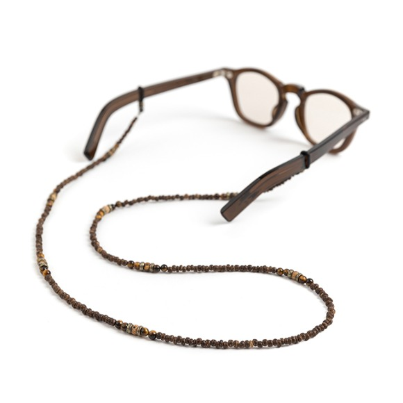 BS WOOD GLASSES STRAP (brown)