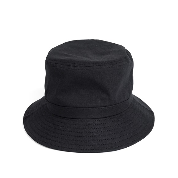 BS RIPSTOP BUCKET HAT (black)