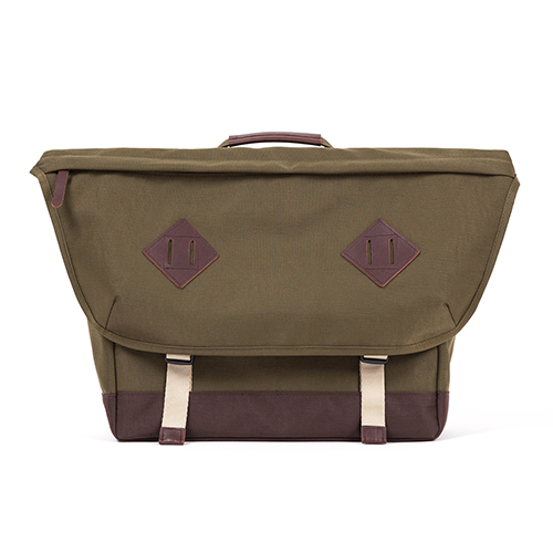 CL MESSENGER BAG (khaki)