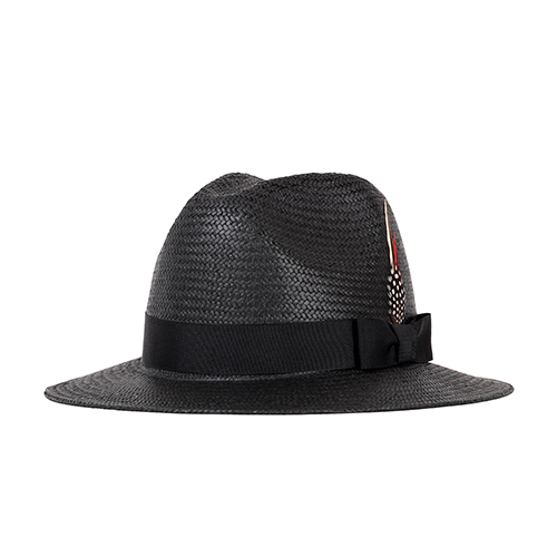 PANAMA HAT (black)