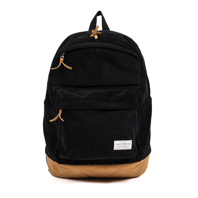 CORDUROY UMB BAG (black)