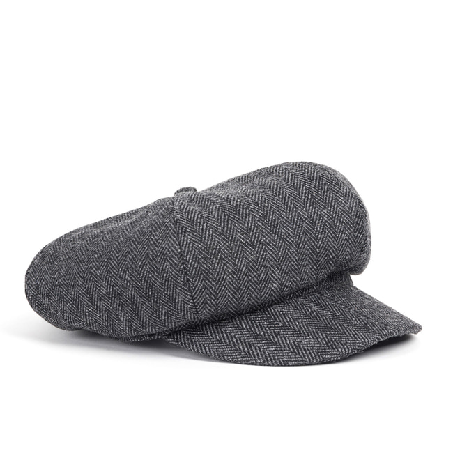 WOOL NEWSBOY CAP (grey)