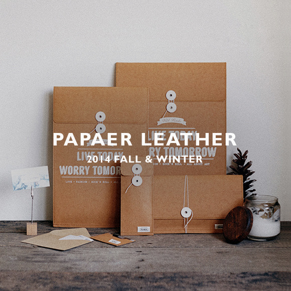 14F/W PAPAER LEATHER
