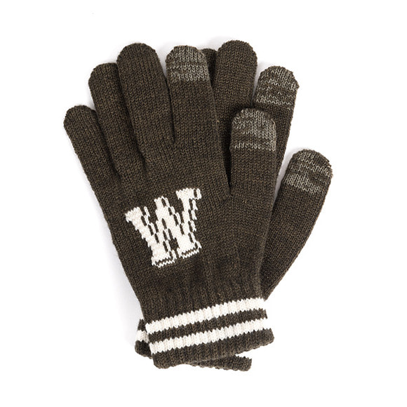 WB TOUCH GLOVES (khaki)
