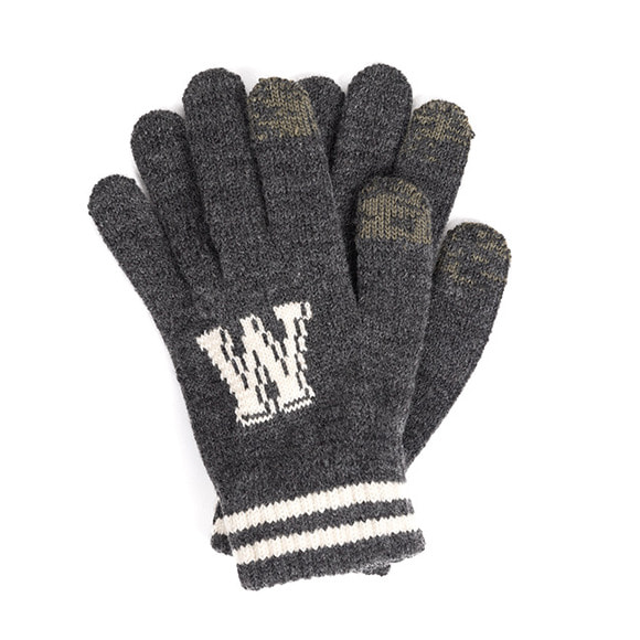 WB TOUCH GLOVES (charcoal)