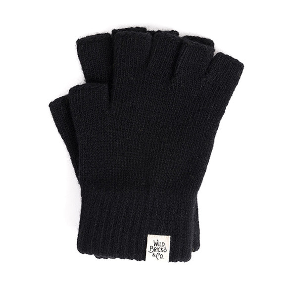 FINGERLESS GLOVES (black)