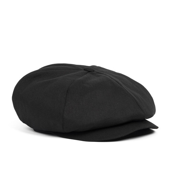 BS NEWSBOY CAP (black)