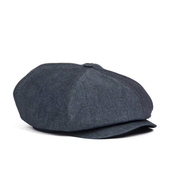 DENIM NEWSBOY CAP (blue)