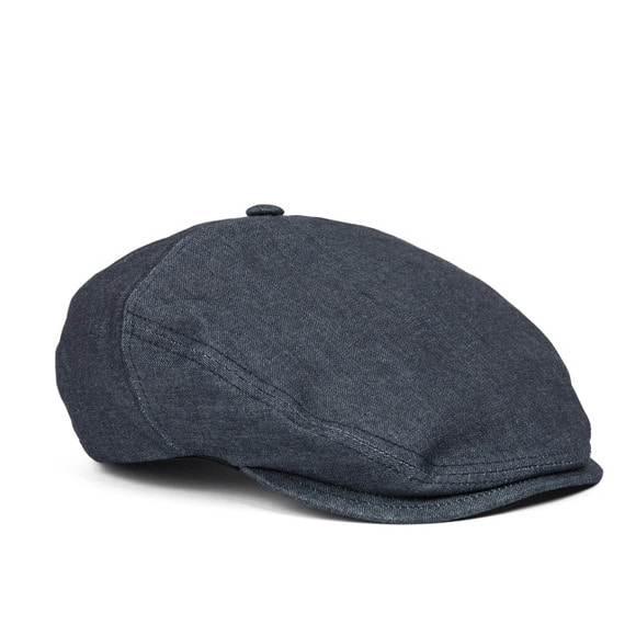 DENIM HUNTING CAP (blue)