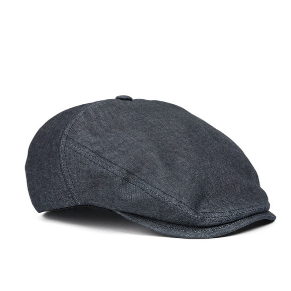 DENIM HUNTING CAP (black)