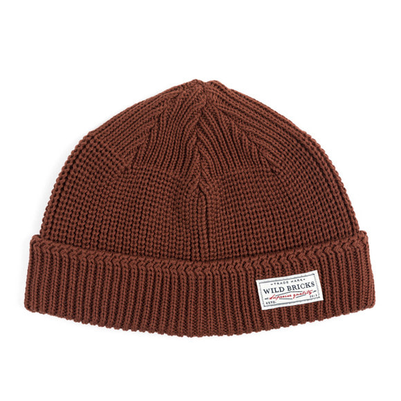 MARINE WATCH CAP (brown)