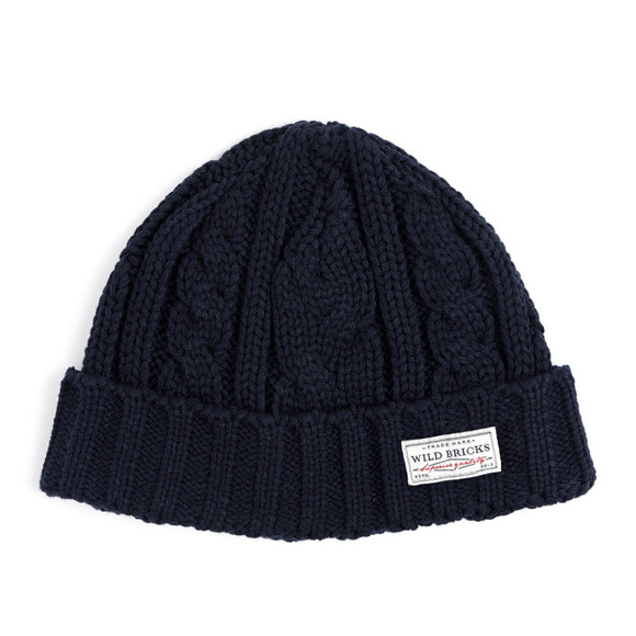 AP CABLE WATCH CAP (navy)