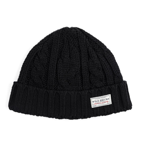 AP CABLE WATCH CAP (black)