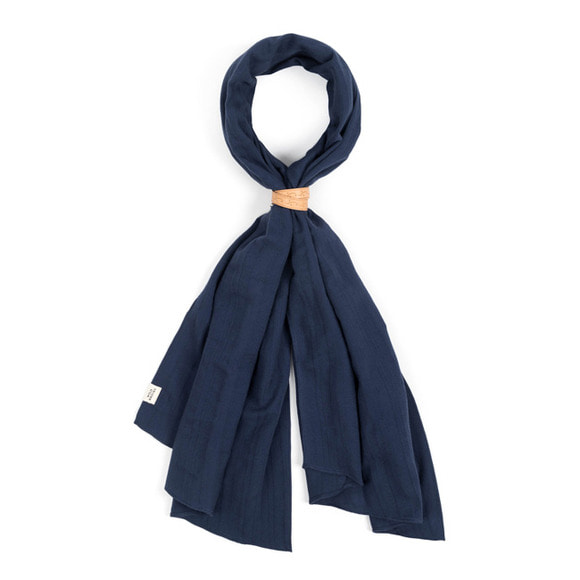 BS VIN SCARF  (blue)