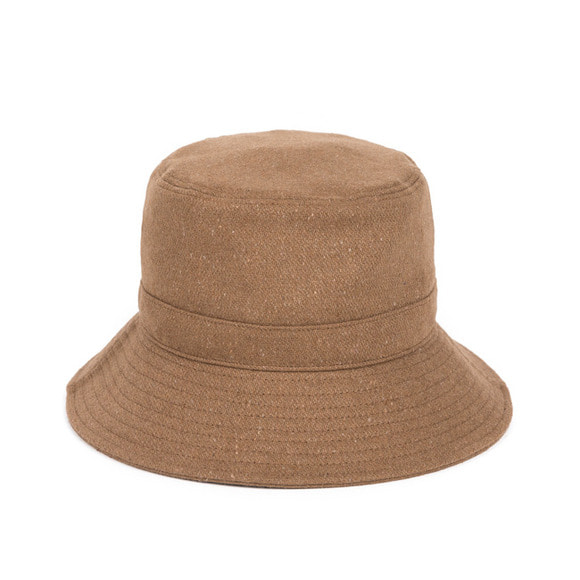 BS WOOL BUCKET HAT (beige)
