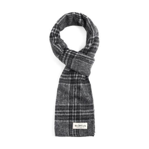 EQ CHECK STOLE (grey)