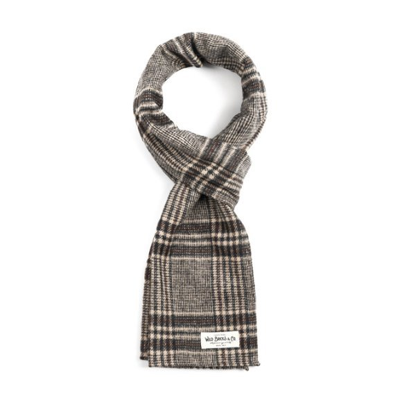 EQ CHECK STOLE (brown)