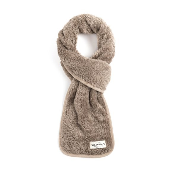 BS FLEECE STOLE (light grey)