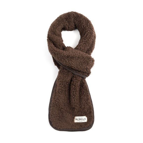 BS FLEECE STOLE (brown)