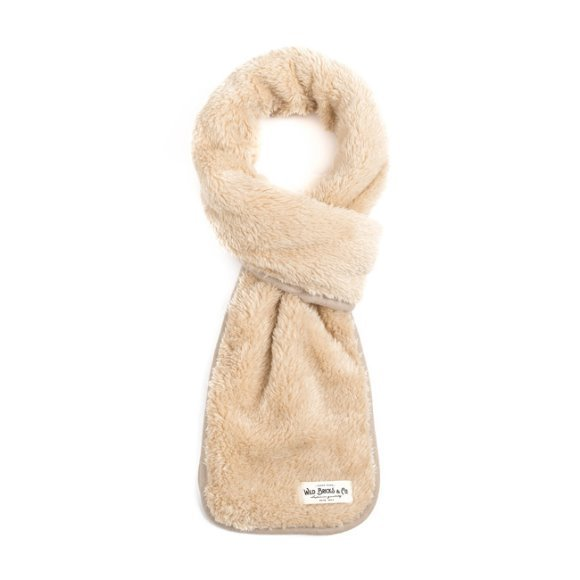 BS FLEECE STOLE (ivory)