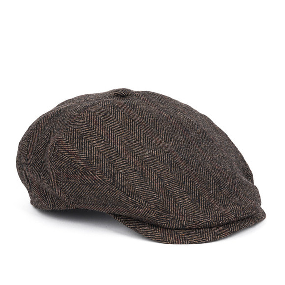 [프리오더 10/22 출고]HERRINGBONE  HUNTING CAP (brown)