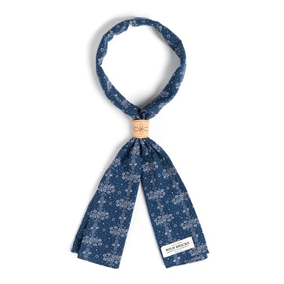 FL DOT SCARF (navy)