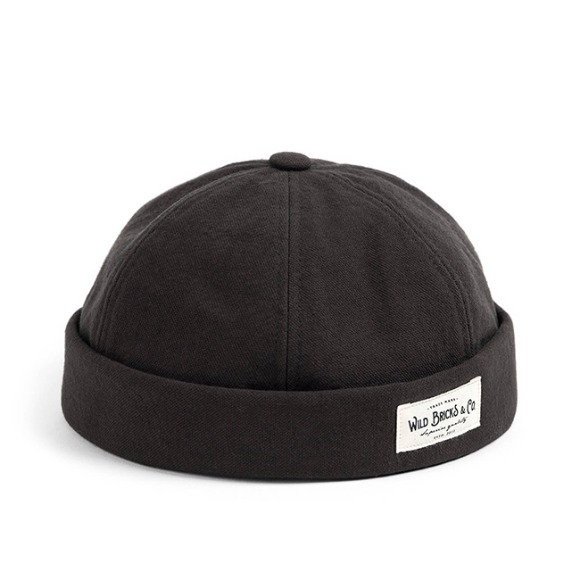 VIN OXFORD BRIMLESS CAP (grey)