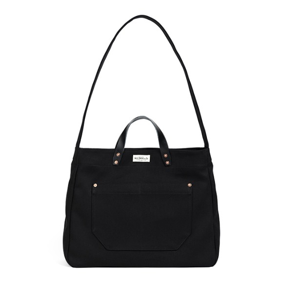 HBT TWO-WAY BAG (black)