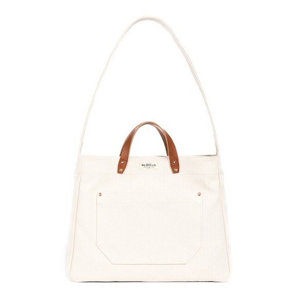 HBT TWO-WAY BAG (ivory)
