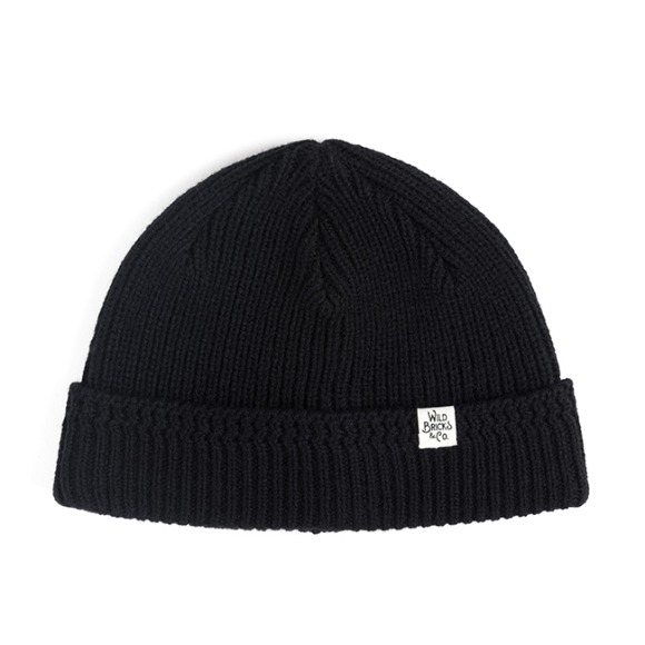 MILITARY KNIT WATCH CAP (black)